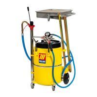 MECLUBE Пневматический маслосборник 65 л с пантографом для автомобилей и мотоциклов (1451)