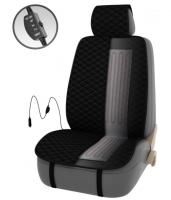 Подогрев сиденья PSV FERVOR со спинкой 2-х режимный (черный), арт. 132249