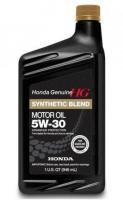 HONDA 5W30 SN Synthetic Blend Полусинтетическое моторное масло для бензиновых двигателей, 946 мл
