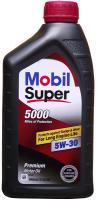 Mobil 1 Super 5000 SAE 5W-30 Полусинтетическое моторное масло, 946 мл