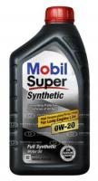 Mobil 1 Super Synthetic 0W-20 Синтетическое моторное масло, 946 мл