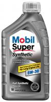 Mobil 1 Super Synthetic 5W-30 Синтетическое моторное масло, 946 мл