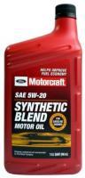 FORD Motorcraft Motor Oil SAE 5W20 SN Полусинтетическое моторное масло для бензиновых двигателей, 946 мл
