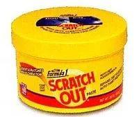 SCRATCH OUT PASTE Liquid Rubbing Compound Formula 1 ® Антицарапин - густая паста для устранения царапин, 567 гр.