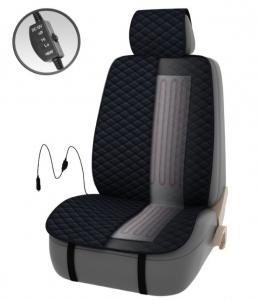 Подогрев сиденья PSV FERVOR со спинкой 2-х режимный (темн. серый), арт. 132250
