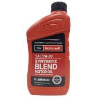 FORD Motorcraft Motor Oil SAE 5W30 SN Полусинтетическое моторное масло для бензиновых двигателей, 946 мл