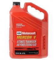 FORD Motorcraft Mercon V Трансмиссионая жидкость для АКПП и ГУР, 4,73 л